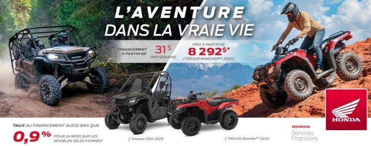 Les véhicules tout-terrain Honda – L'aventure dans la vraie vie