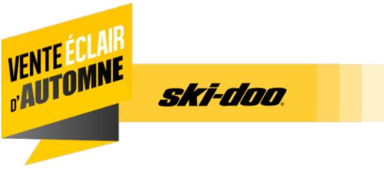 Vente éclair Ski-Doo