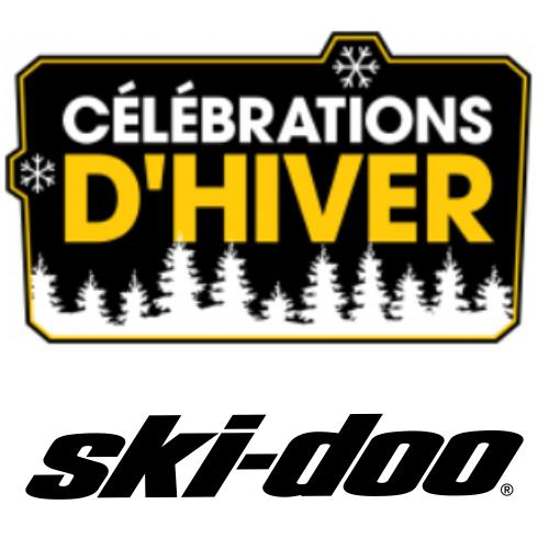 La vente Célébrations d'hiver de Ski-Doo
