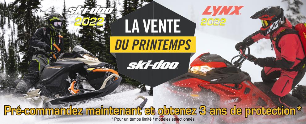 La Vente du printemps Ski-Doo
