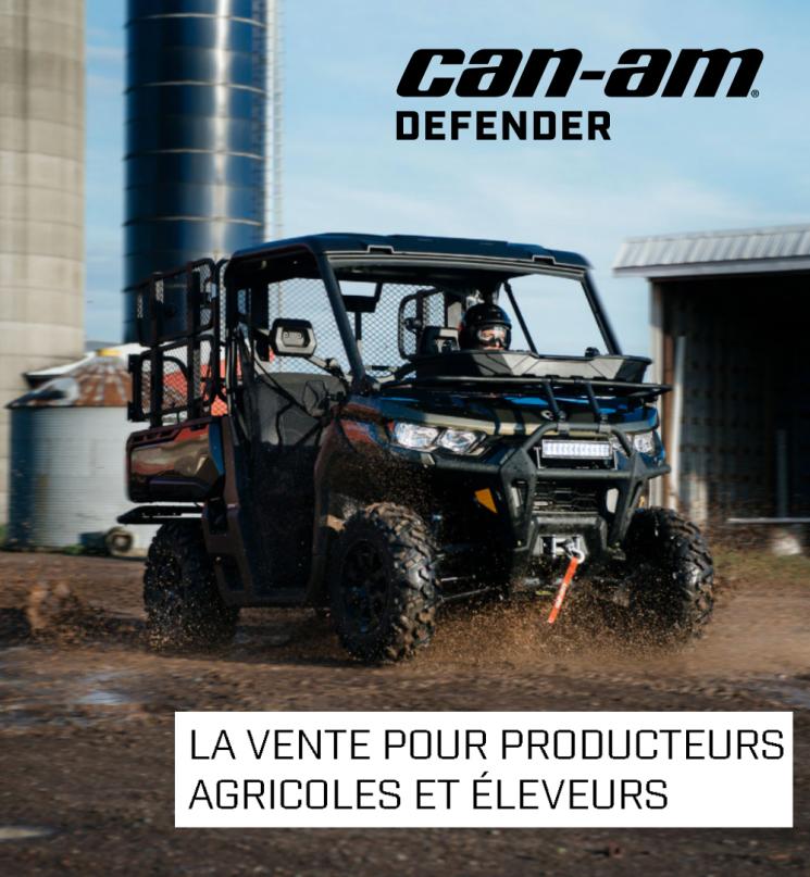 LA VENTE POUR PRODUCTEURS AGRICOLES ET ÉLEVEURS