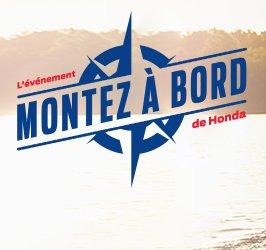 MONTEZ À BORD AVEC HONDA MARINE