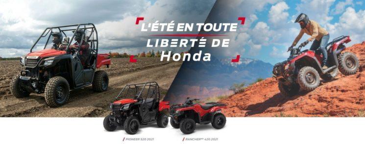 L'été en toute liberté de Honda – VTT